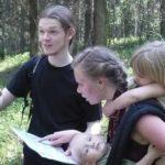 Короткие маршруты проходят слингорогейнеры 17 мая 2010 года Ново-Кавголовский лесопарк.
