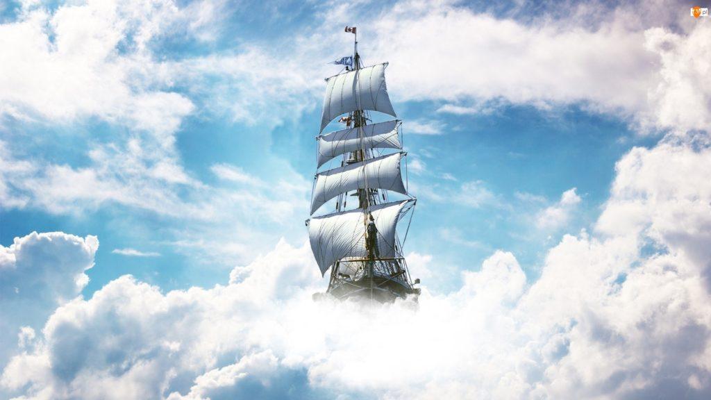 На крыше старого сарая, котораяраскачивалась как палубу, Кирилл вновьпочувствовал себякапитаном корабля, прокладывающего курс к чуду.